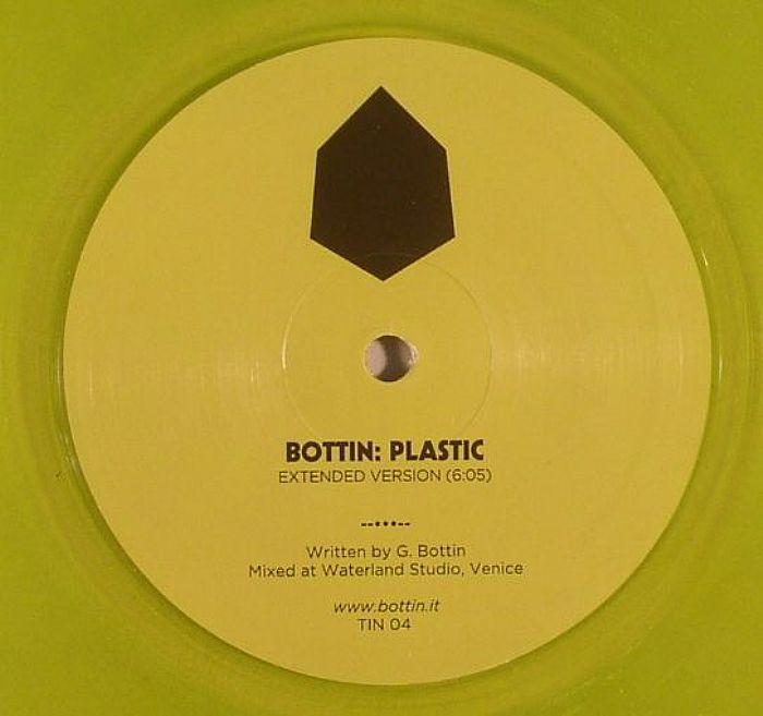 Bottin - Plastic (Tin) (In Flagranti Remix) (clear yellow vinyl laser disco house)