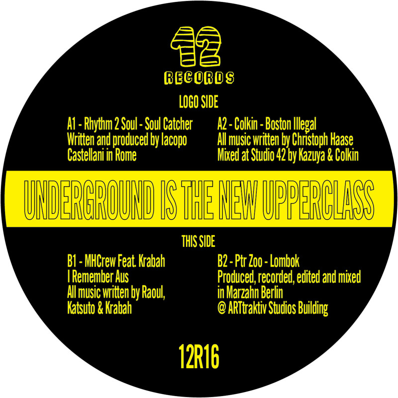 Underground is the new Upperclass [12 Records]