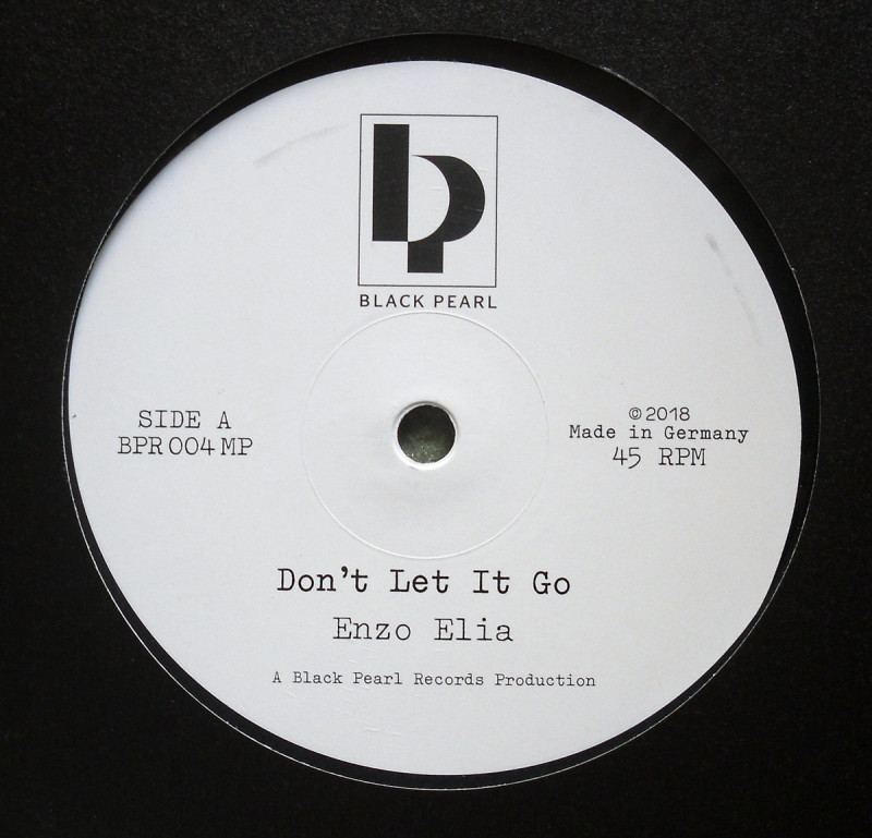 Enzo Elia ‎– Don't Let It Go - Pan-A-Rocca [Black Pearl Records]