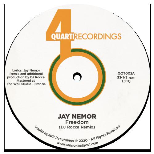 Jay Nemor - Freedom (DJ Rocca Remix) [4Quarti Recordings]
