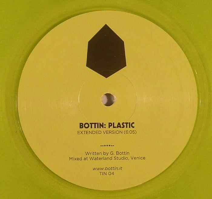 Bottin - Plastic [Tin, clear yellow vinyl] + In Flagranti remix Genre: laser disco house