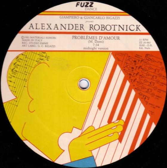 Alexander Robotnick - Problèmes D'Amour