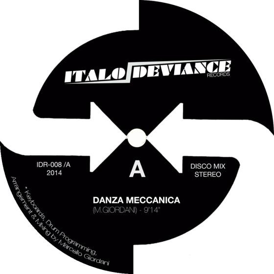 Marcello Giordani - Danza Meccanica [Italo Deviance]