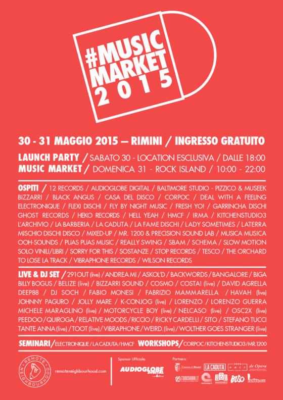 #MusicMarket2015 - Rimini - Web