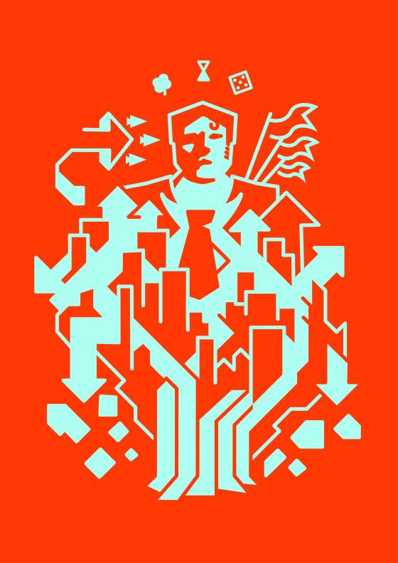 """""""Libera Concorrenza Contemporanea"""" by Leon Westgate Graphics"""